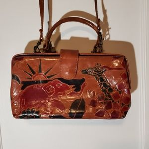 Vintage Leather Imported Purse